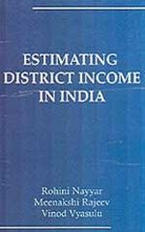Estimating District Income in India