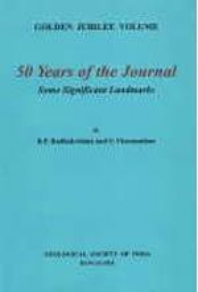 50 Years of the Journal: Some Significant Landmarks