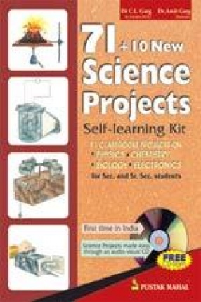71 + 10 New Science Projects with free CD