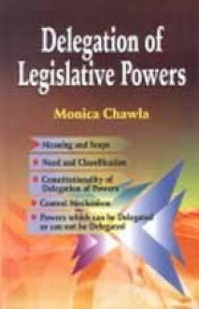 Delegation of Legislative Powers