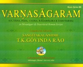 Varnasagaram: 415 Tana, Pada, Cauka, Ragamalika and Daru Varnas