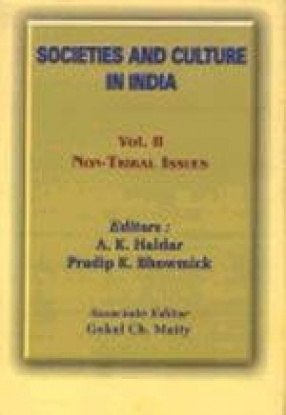 Societies and Cultures in India: Tradition and Modernity : Persistence and Change, Volume II. Non-Tribal Issues