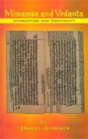Mimamsa and Vedanta Interaction and Continuity