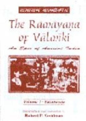The Ramayana of Valmiki: An Epic of Ancient India (Volume I-V)
