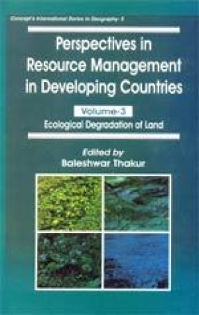 Perspectives in Resource Management in Developing Countries: Volume 3