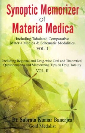 Synoptic Memorizer of Materia Medica (In 2 Volumes)