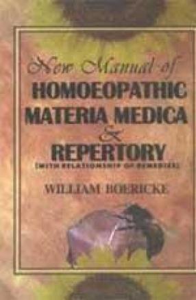 New Manual of Homoeopathic Materia Medica & Repertory