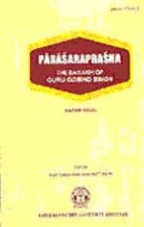 Parasaraprasna: The Baisakhi of Guru Gobind Singh