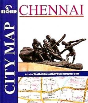 Eicher City Map, Chennai: Includes Tambaram, Ambattur, Ennore, OMR