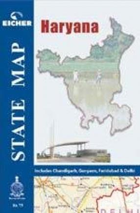State Map: Haryana