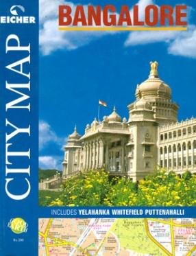 Eicher City Map, Bangalore: Includes Yelahanka, Whitefield, Puttenahalli