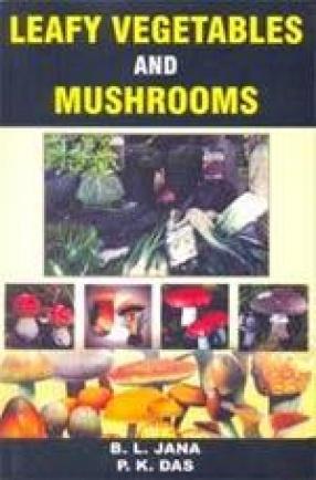 Leafy Vegetable and Mushrooms