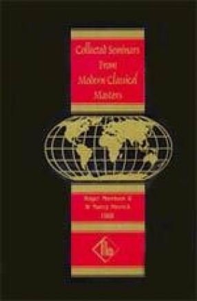 Collected Seminars from Modern Classical Masters: Jonathan Shore Glasgow, Scotland 1990