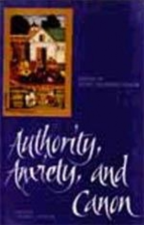 Authority, Anxiety and Canon