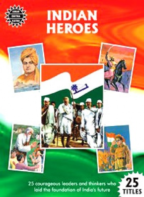 Indian Heroes (Set of 25 Books): Amar Chitra Katha
