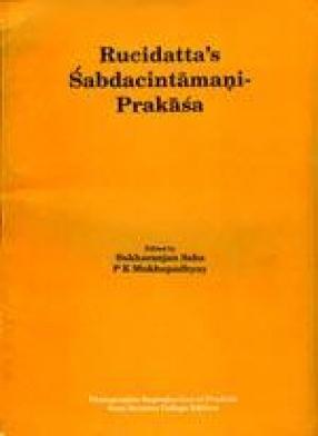 Rusidatta's Sabdacintamani Prakasa