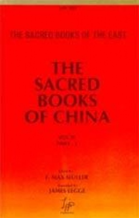 The Sacred Books of China: The Texts of Confucianism (Volume 3)