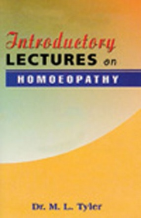 Homoeopathy Introductory Lectures