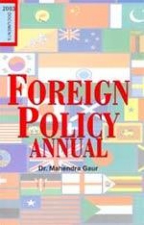 Foreign Policy Annual, 2003 (In 2 Parts)