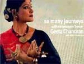 So Many Journeys by Bharatanatyam Dancer