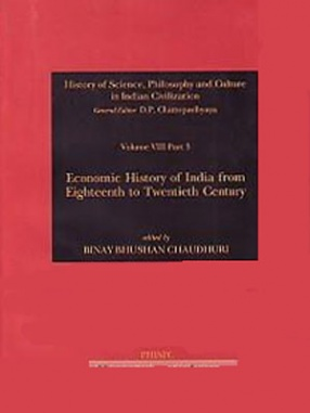 History of Science, Philosophy and Culture in Indian Civilization: Economic History of India from Eighteenth to Twentieth Century (Volume VIII, Part 3)