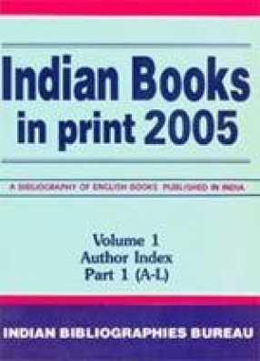 Indian Books in Print 2005 (In 3 Volumes)