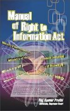 Manual of Right to Information Act