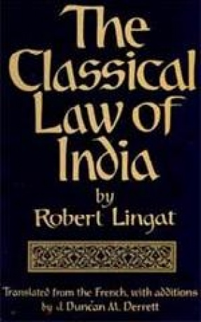 The Classical Law of India