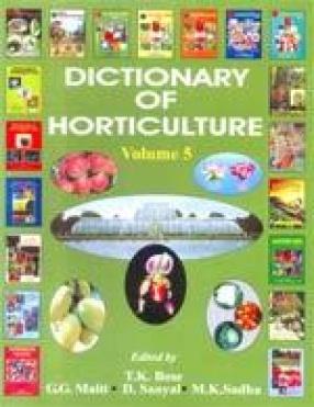 Dictionary of Horticulture: Erica-Haplopappus (Volume 5)