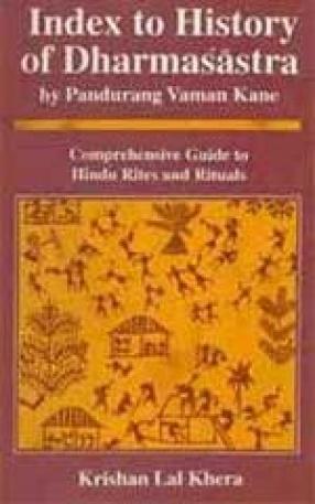Index to History of Dharmasastra by Pandurang Vaman Kane