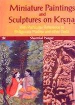 Miniature Paintings and Sculptures on Krsna