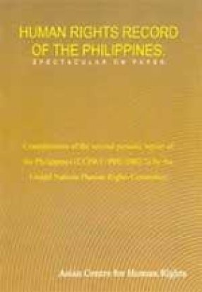 Human Rights Record of the Philippines: Spectacular on Paper