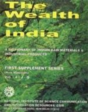 The Wealth of India: A Dictionary of Indian Raw Materials & Industrial Products: First Supplement Series (Raw Materials) (Volume-4: J-Q)