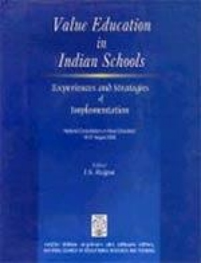 Value Education in Indian Schools: Experiences and Strategies of Implementation