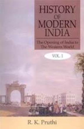 History of Modern India (In 3 Volumes)