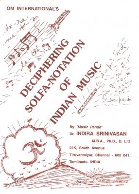 Deciphering Solfa-Notation of Indian Music