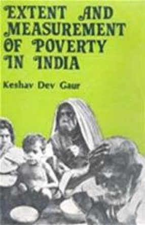 Extent and Measurement of Poverty in India: A Case Study of Rajasthan