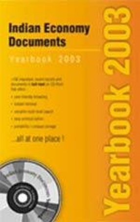 Indian Economy Documents Yearbook 2003: Reports, Policy Documents, Discussion Paper