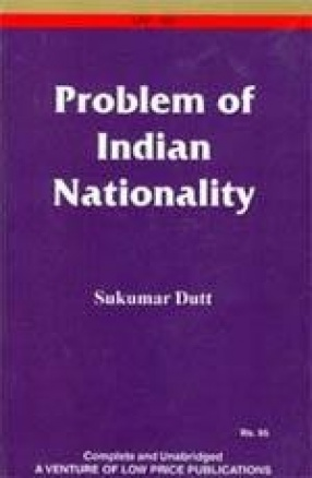 Problem of Indian Nationality