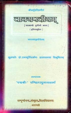 Vakyapadiyam (Part III, Volume 2)