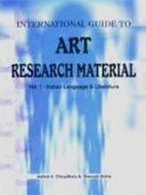 International Guide to Art Research Materials, Volume 1