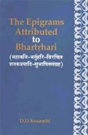 The Epigrams Attributed to Bhartrhari