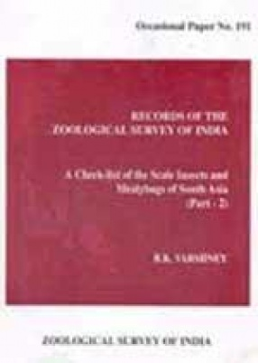 Records of the Zoological Survey of India: A Check-list of the Scale Insects and Mealybugs of South Asia (Part–2)