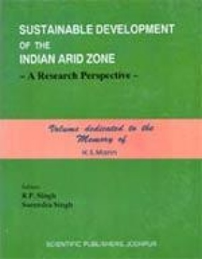 Sustainable Development of the Indian Arid Zone: A Research Perspective