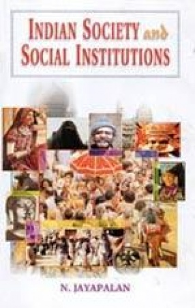 Indian Society and Social Institutions (In 2 Volumes)