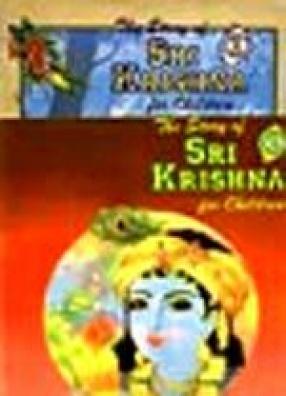 The Story of Sri Krishna For Children (In 2 Books)