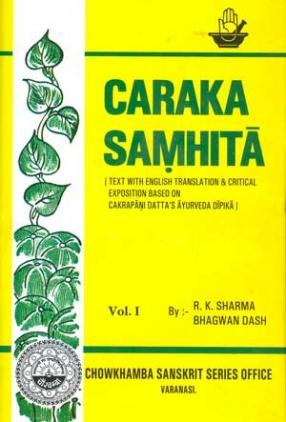 Agnivesa's Caraka Samhita (In 7 Volumes)