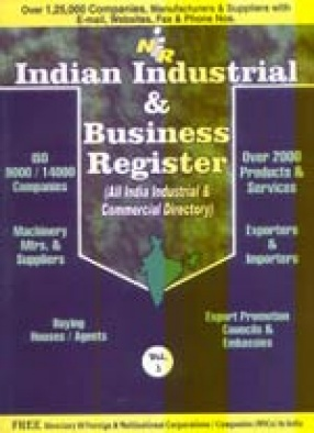Indian Industrial & Business Register (All India Industrial & Commercial Directory) (In 3 Volumes)