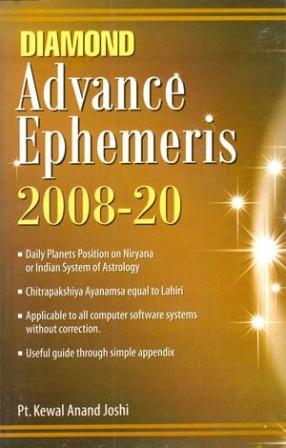Advance Ephemeris, 2008-2020: Planets Position as per Niryana System