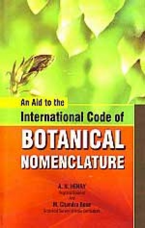 An Aid to the International Code of Botanical Nomenclature